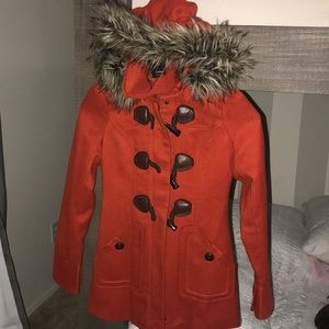 Winter jacket with fur